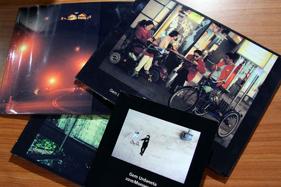 2010 monograph and three 2008 themed photo books